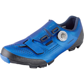 Shimano SH-XC5 Scarpe Da Ciclismo Largo Uomo, blu